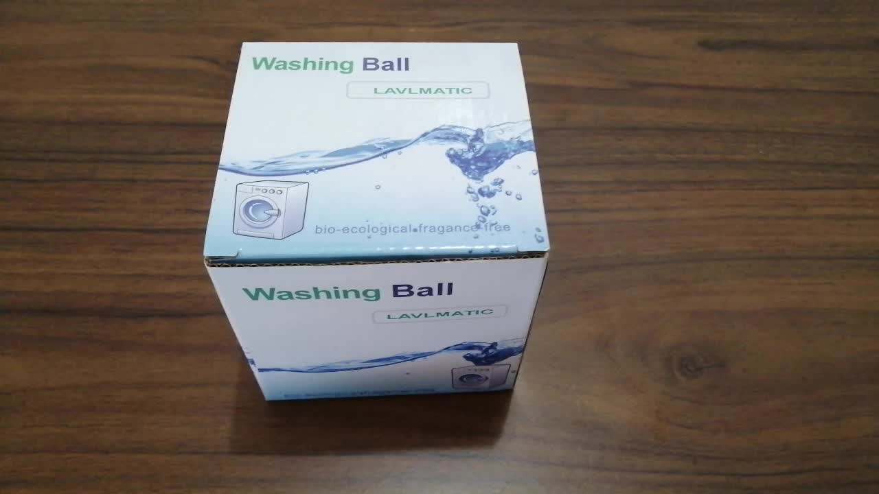 New Hot Selling TPR Eco Green washing ball,GoodFrendly Laudry ball Anion Cleaning Magic Wash Washing Clothes Softener