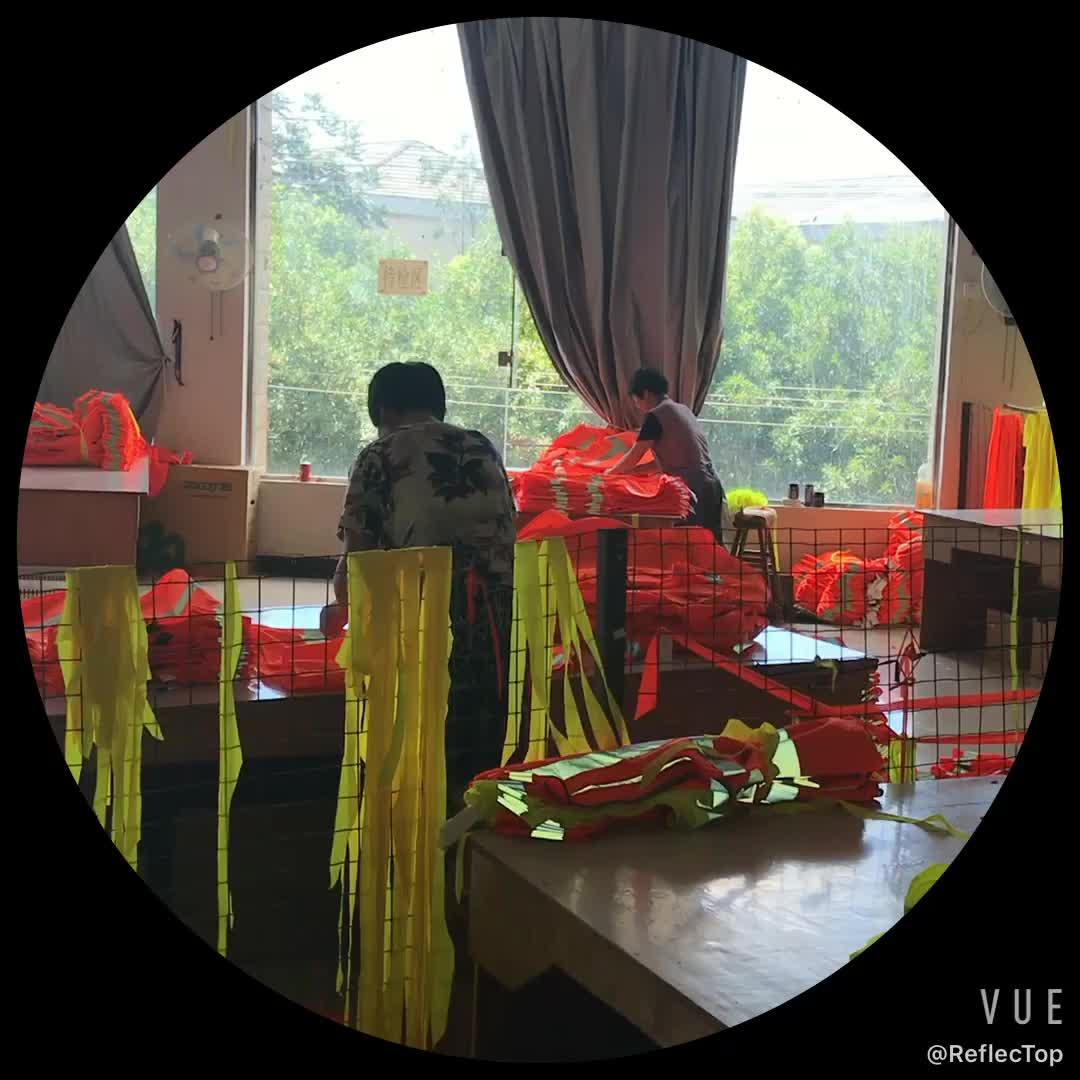 2019 Popüler Satış güvenli yansıtıcı yelek çin'de Toptan