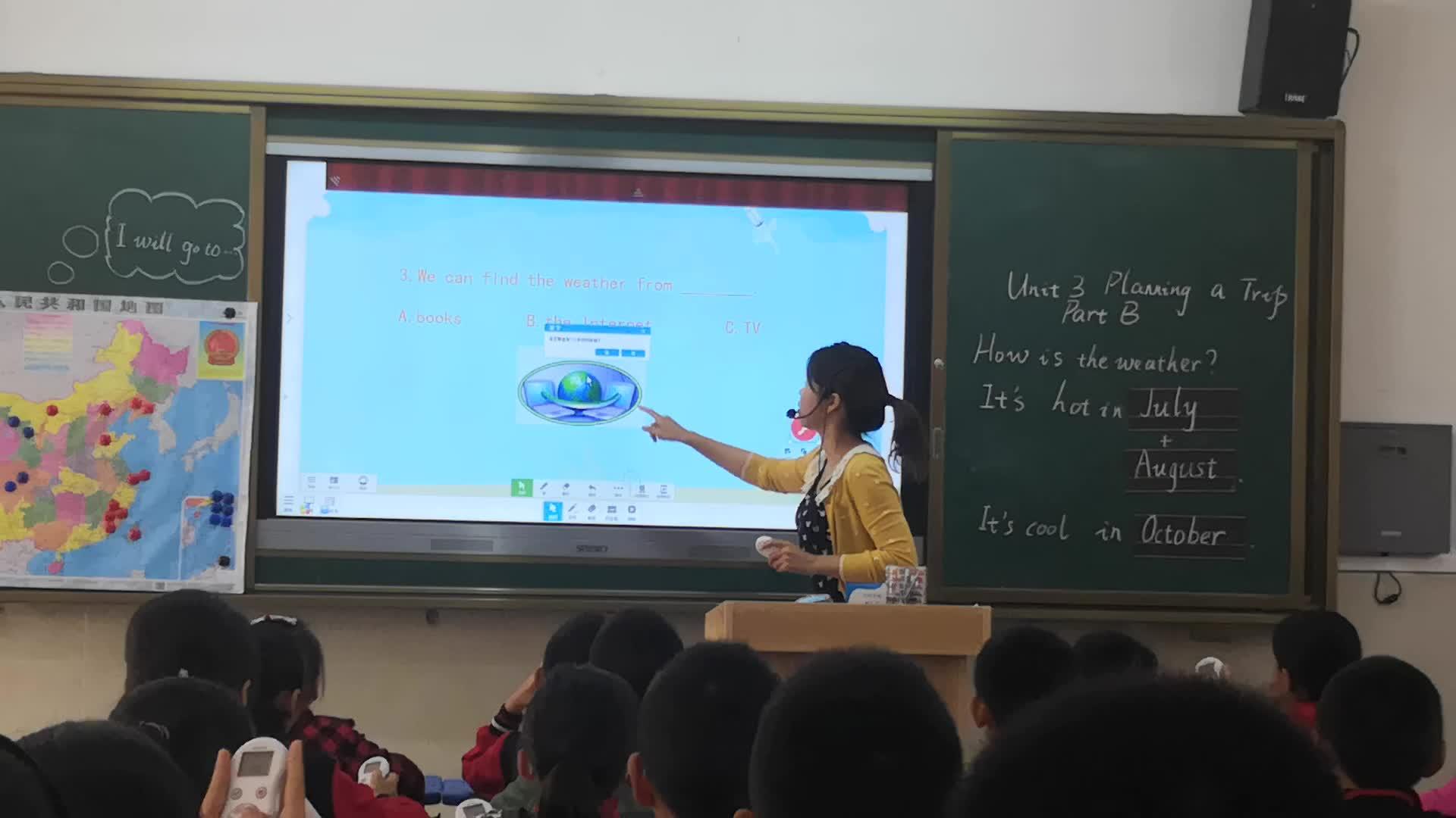 Model QRF999 kablosuz elektronik oylama sistemi, clickers yanıt sistemi okul için