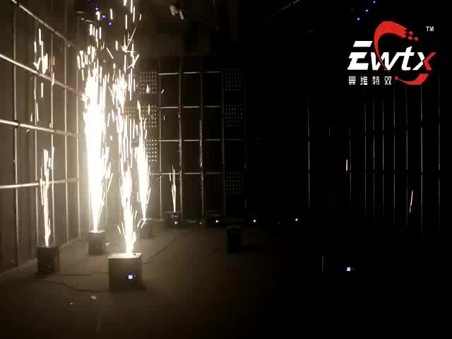 EWTX Indoor Stage Sparkler Machine For Wedding Party Effect Machine Cold Fireworks For DJ Disco Stage Use