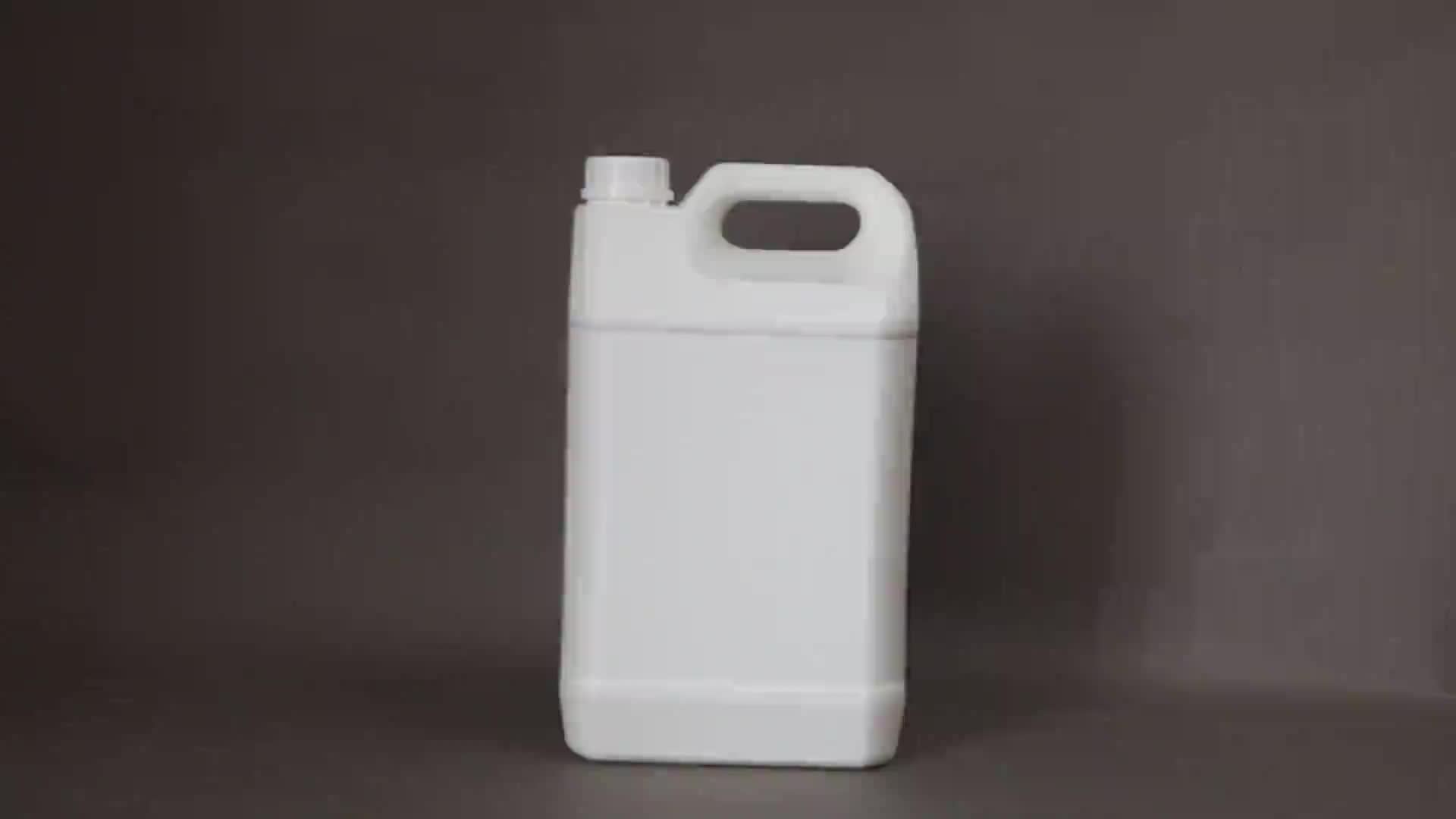 5L 10L 20L 25L פלסטיק שמן מיכל/תוף/דלי/חבית, שקוף hdpe ג 'רי יכול לתעשייה אריזה