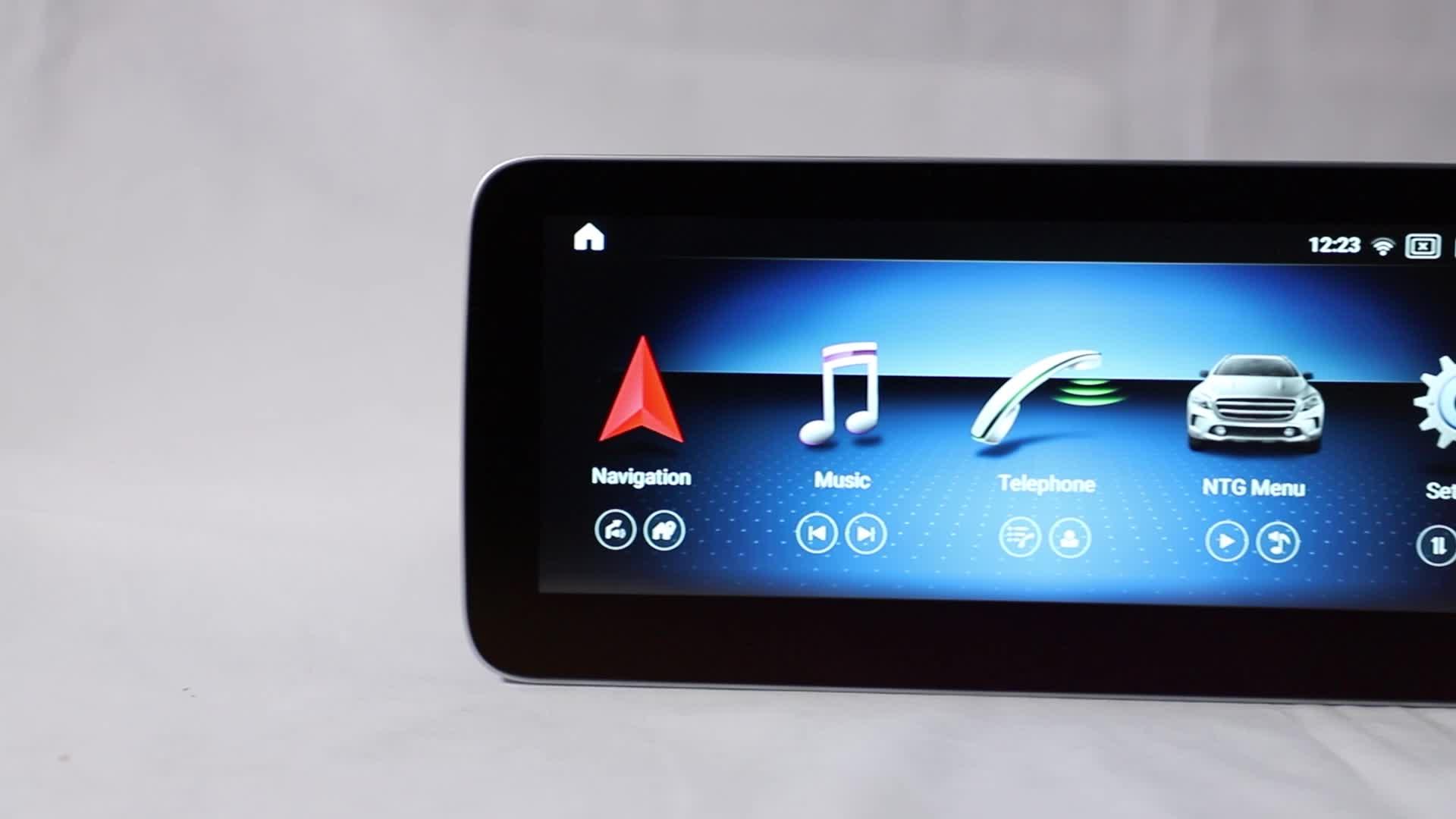 9 Inch 4 + 64G Android 10.0 Chơi Xe Đa Phương Tiện Đối Với Mercedes Benz SLK R172 SL R231 2011- 2018 GPS Hệ Thống Âm Thanh Stereo