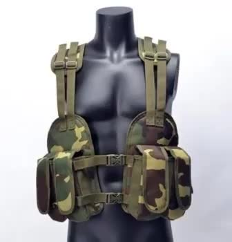 YAKEDA American Seal woodland camouflage military ak Tactical Vest accessoire de combat militaire chest rig