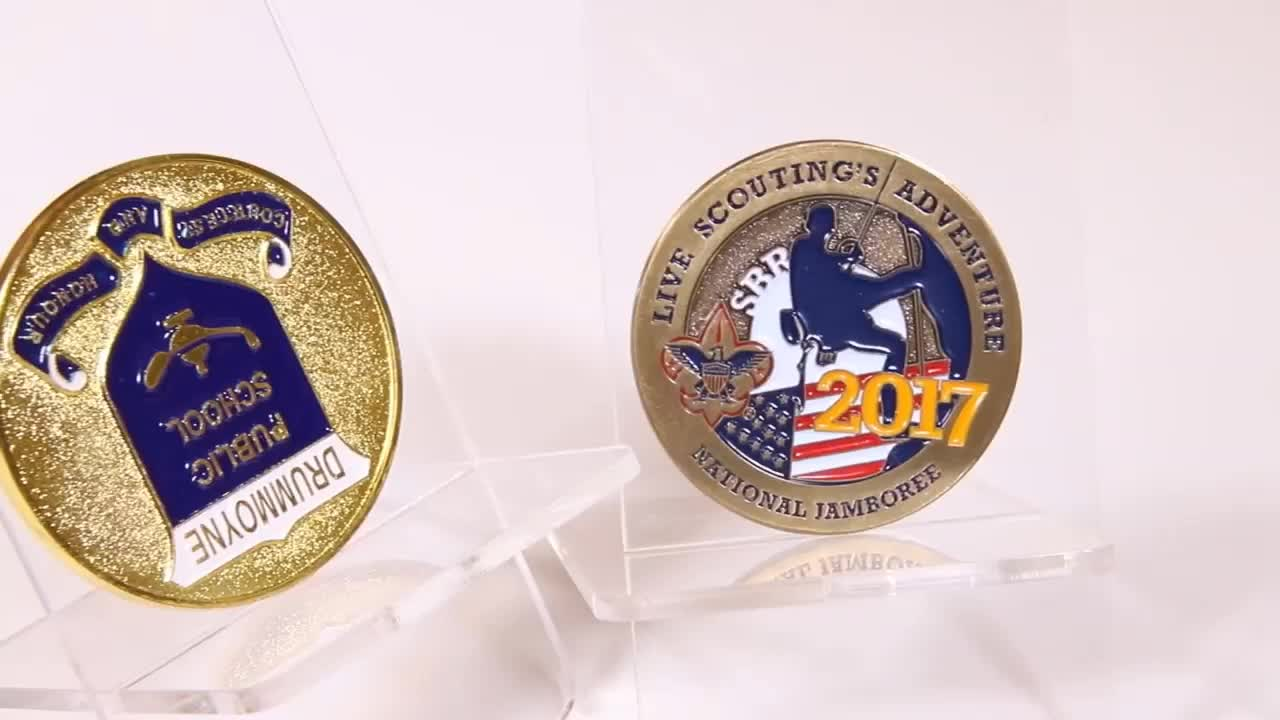 Cheap Custom Metal Donald Trump Challenge Coin