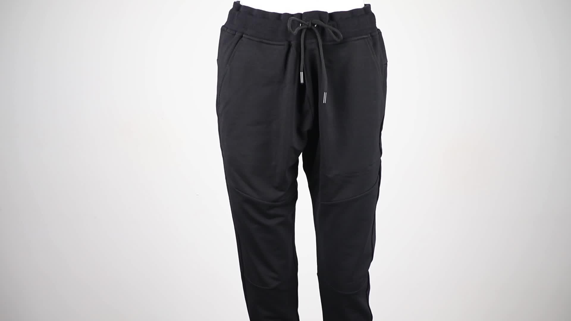 Più Nuovo Allenamento Fitness Pantaloni Della Tuta Tapered Slim Fit Gym Cotone Jogger pantaloni Uomo
