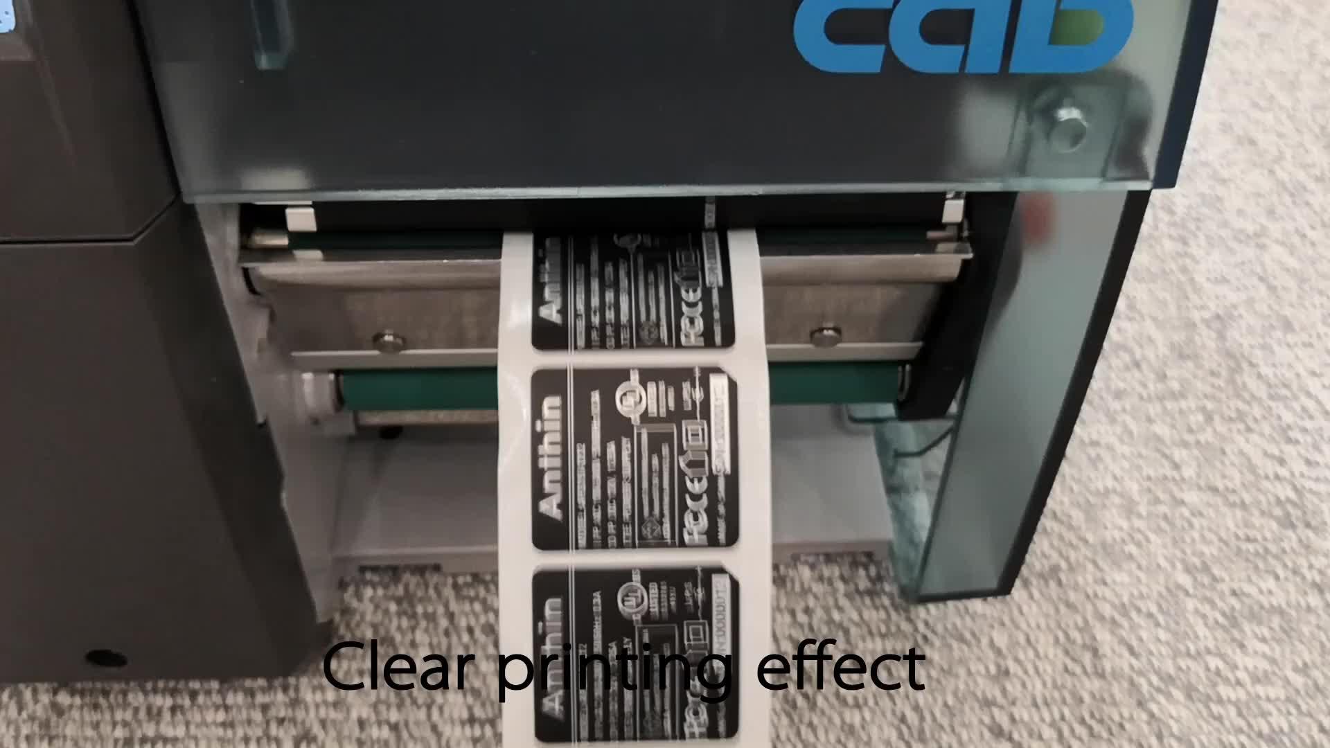 Etiqueta de Envio A4 para Impressora A Laser, Impressão a jato de tinta A4 de Papel Kraft, auto A4 Adesivo Etiqueta