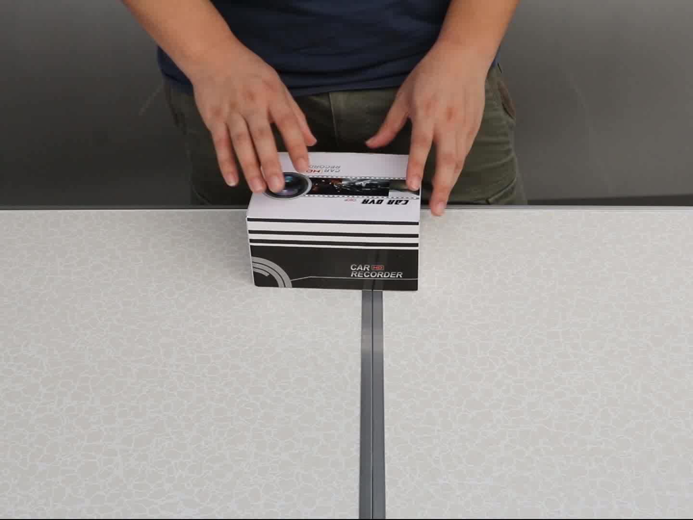1080p manual car camera hd dvr 4 inch Dual dashcam dvr camera Car black box