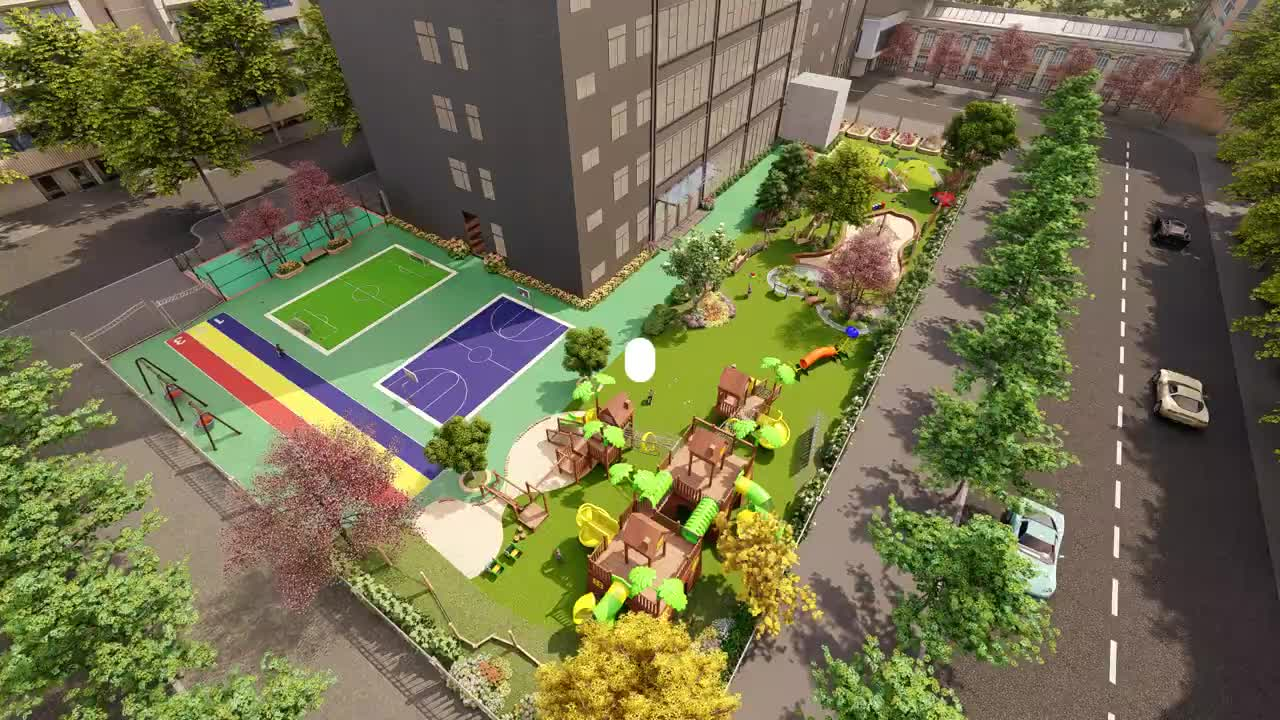 COWBOY progetto commerciale parco giochi all'aperto di divertimento parco a tema
