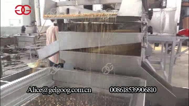 Otomatik Badem Fındık Fıstık Doğrama Makinesi