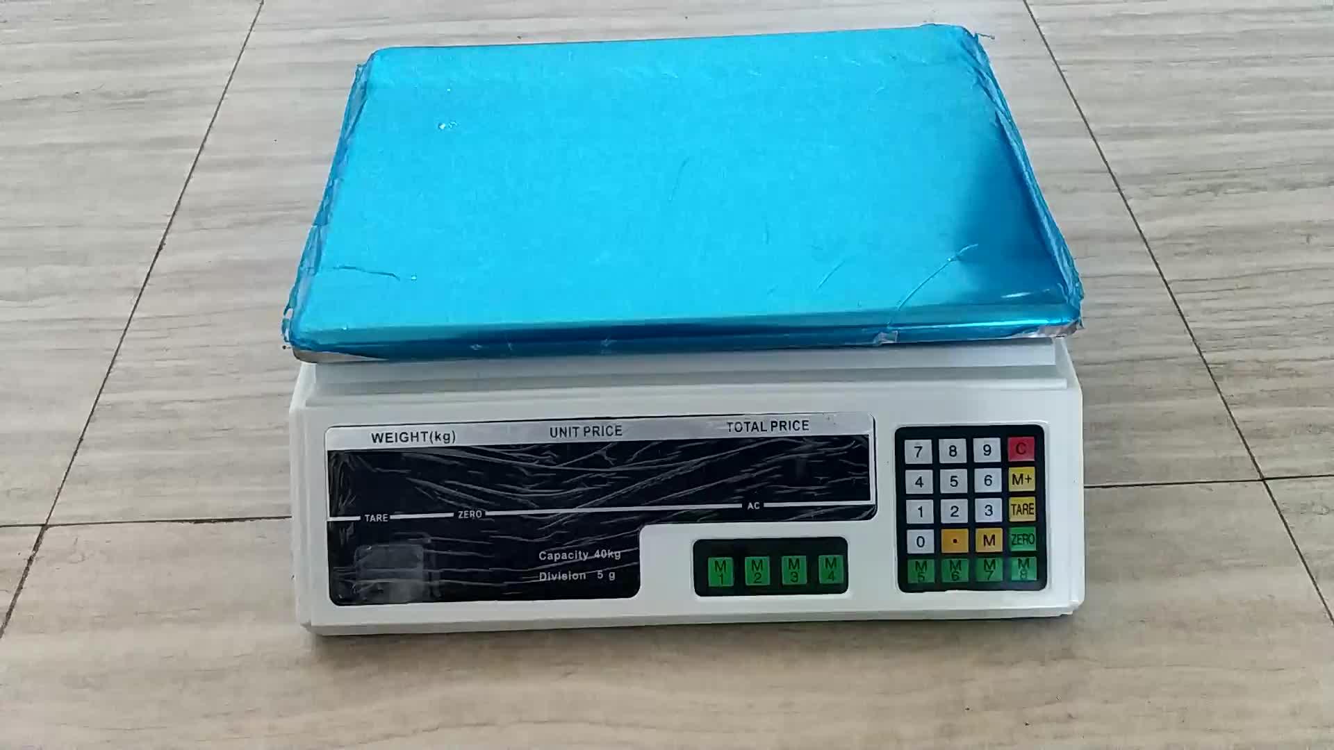एसीएस श्रृंखला मूल्य कंप्यूटिंग पैमाने 3kg/1g डिजिटल वजन मशीन