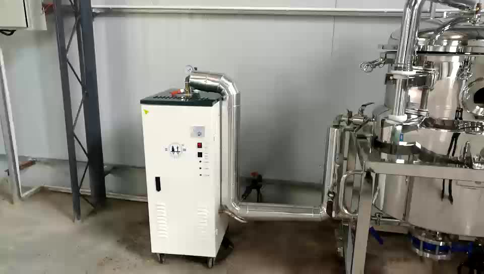 CE approved essential oil co2 distiller extraction machine and distillation frankincense machine herb distill equipment