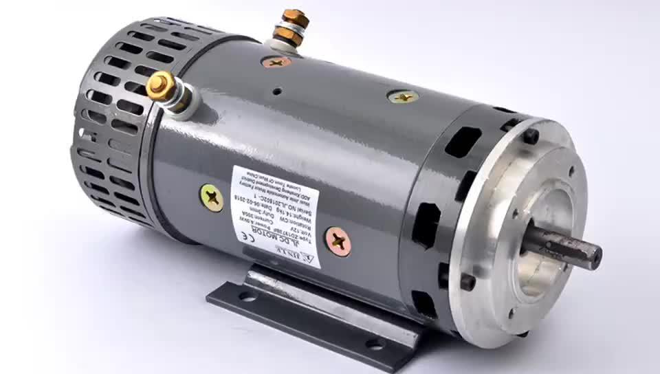 Ad alta Potenza 12V 3000W Motore di CC della Spazzola Diretta Idraulico