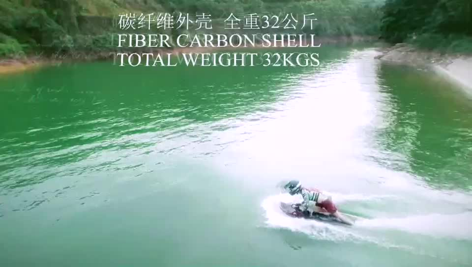 Bajo precio, velocidad rápida, 72V 35Ah, 52 KM/H, 10000 W, potencia motorizada, agua eléctrica, Jet Ski, tabla de Surf corporal, en venta