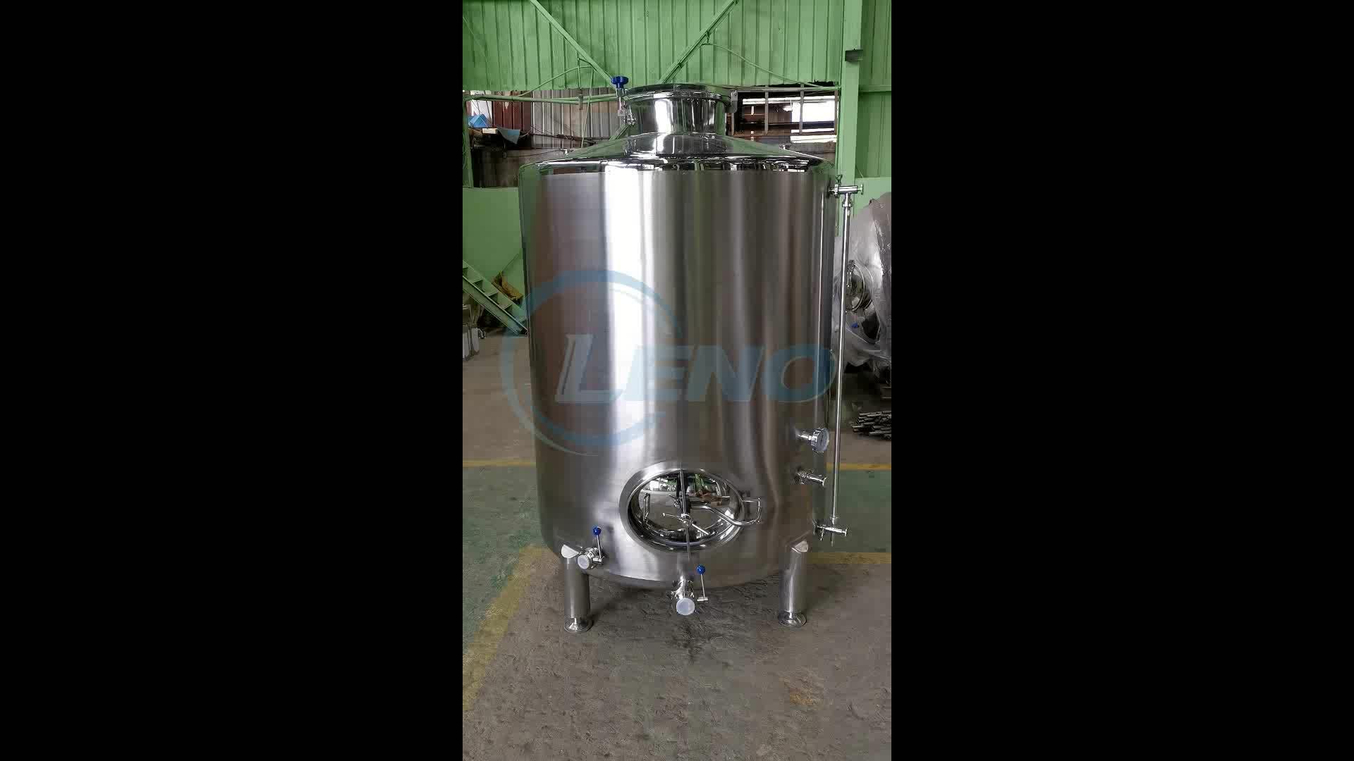 Stainessl steel food grade brewing beer fermenter wine storage tank grape wine fermentation tank