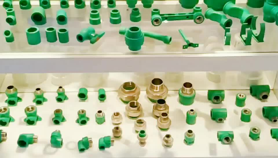 Supplier High Quality GB Standard Plastic Water Pipe Fittings Plastic End Cap PPR End Pipe