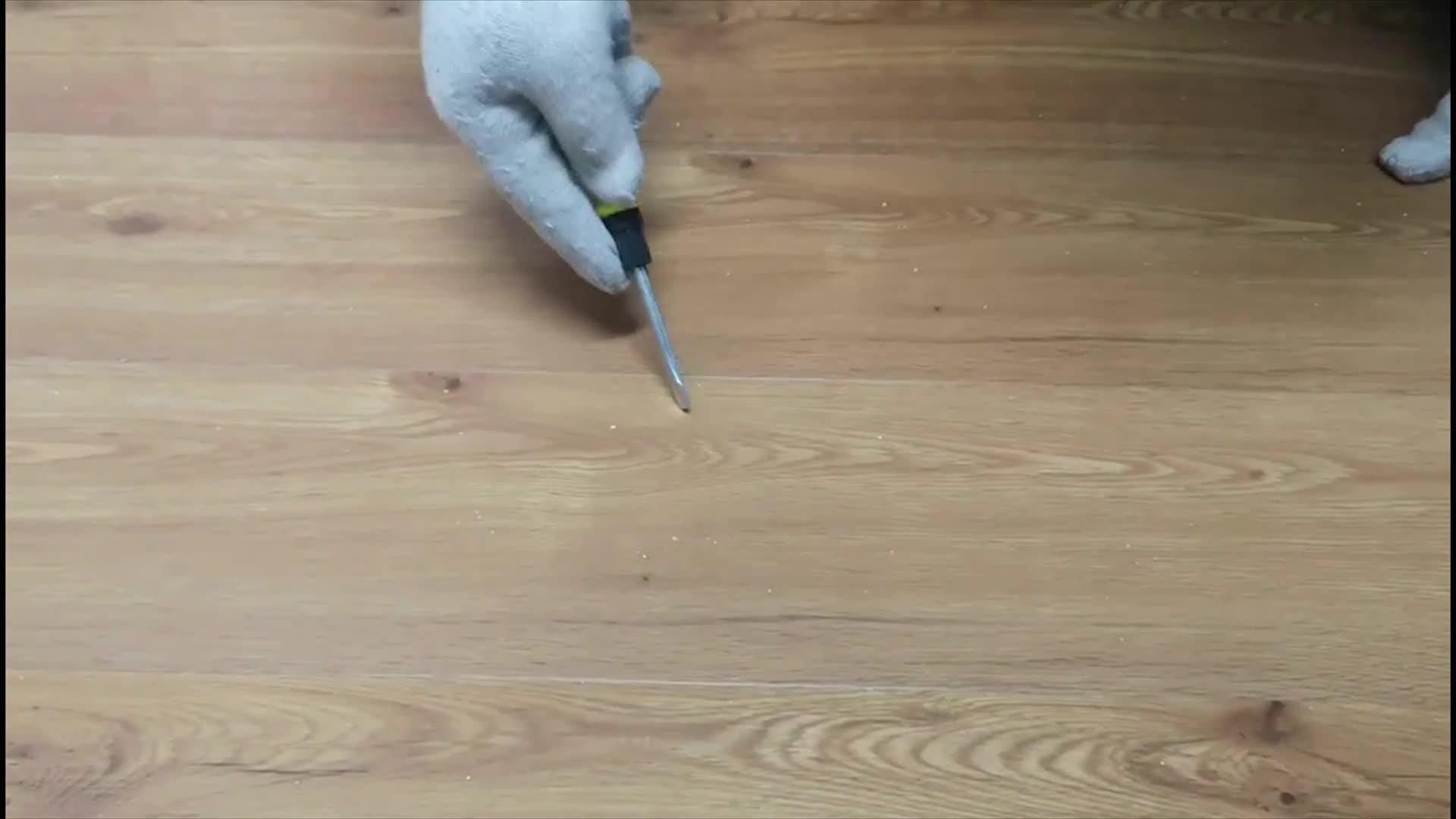 oak wood rigid vinyl plank fade resistant interlocking spc flooring with virgin material