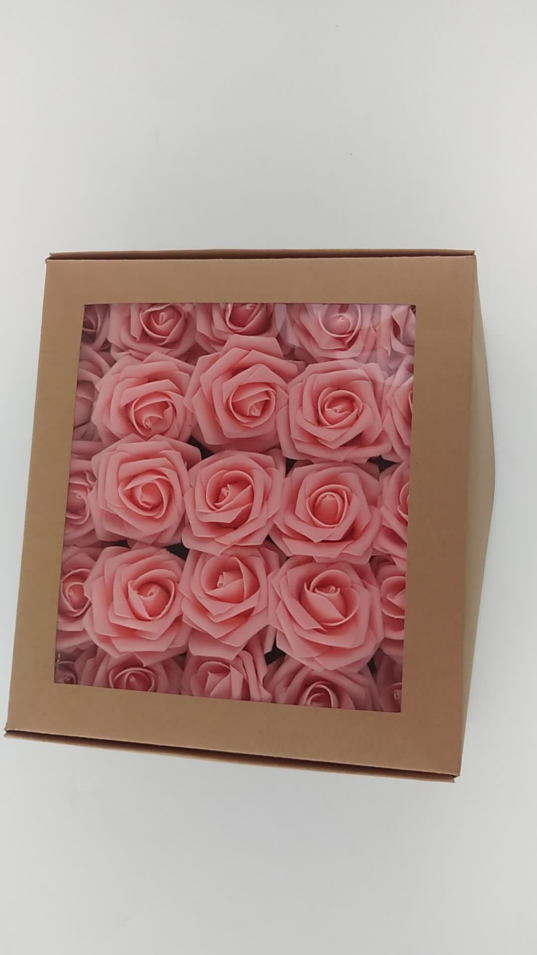 """3 """"LaTeX Busa Rose Bunga Diy Berciuman Bola Pusat Pernikahan Pihak Dekorasi Hadiah Grosir 52187"""