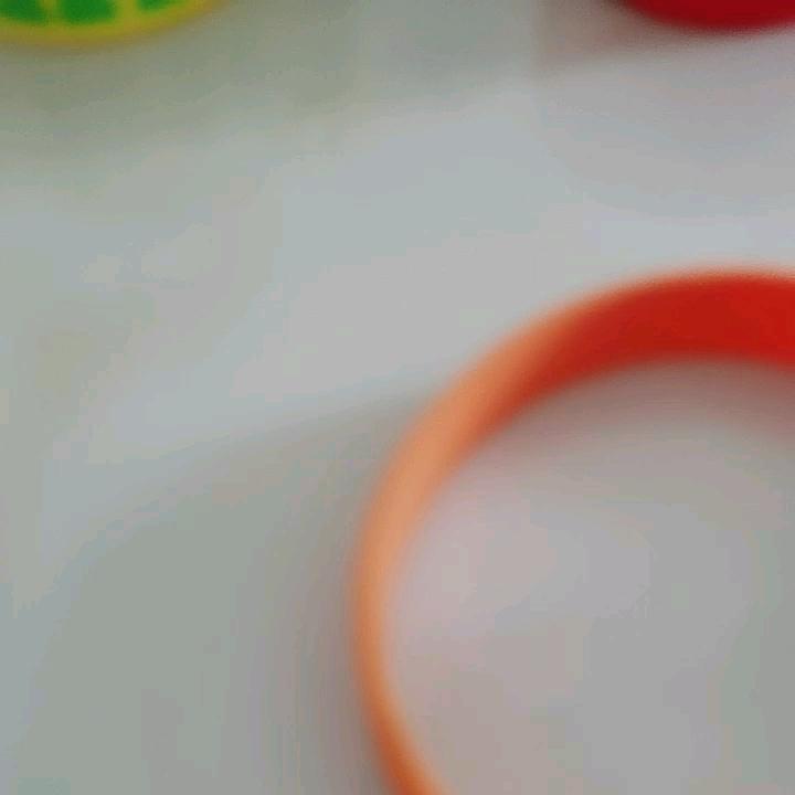 Siliconen rubber armband