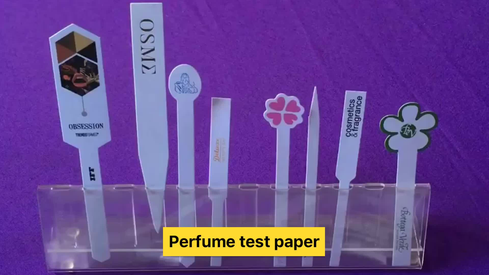 Atacado China Mais Novo e Mais Alta Qualidade Papel De Teste Perfume