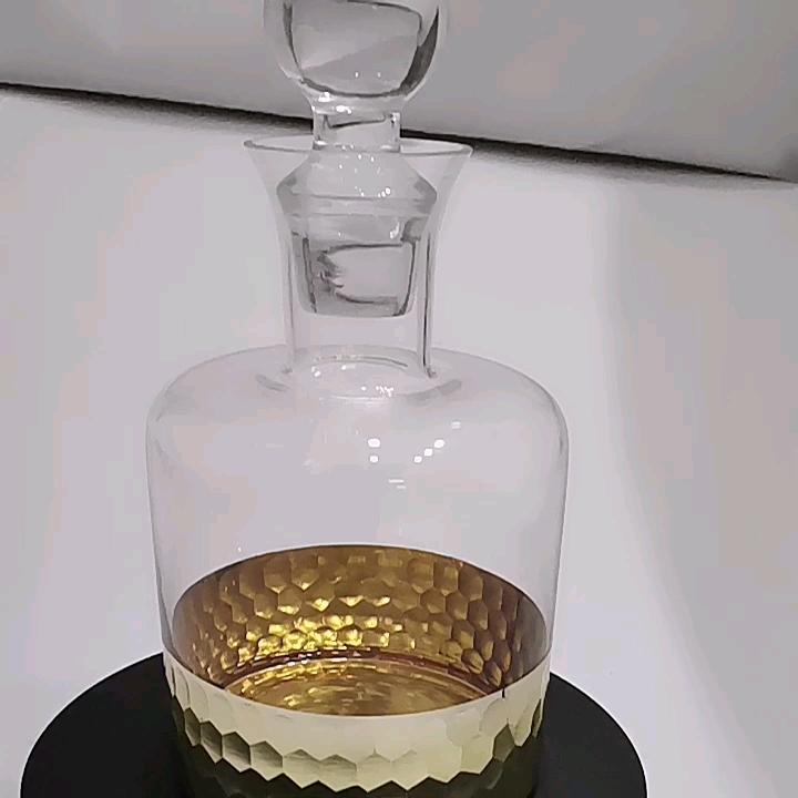 Kaca Botol Minuman dengan Tutup, Mudah untuk Membawa Menangani Mesin Pencuci Piring Aman