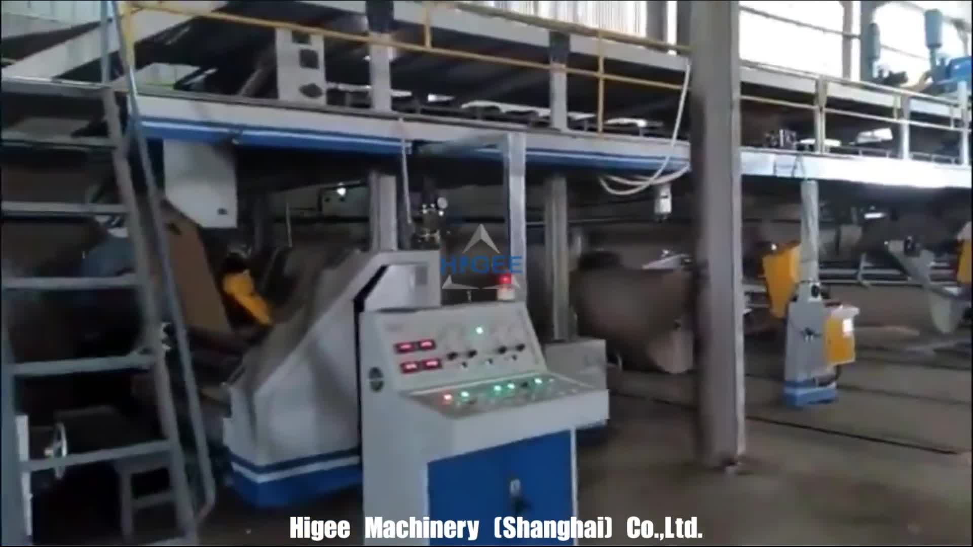 5 Ply Automatic Corrugated Cardboard Production Line Carton Paper Making Machinery