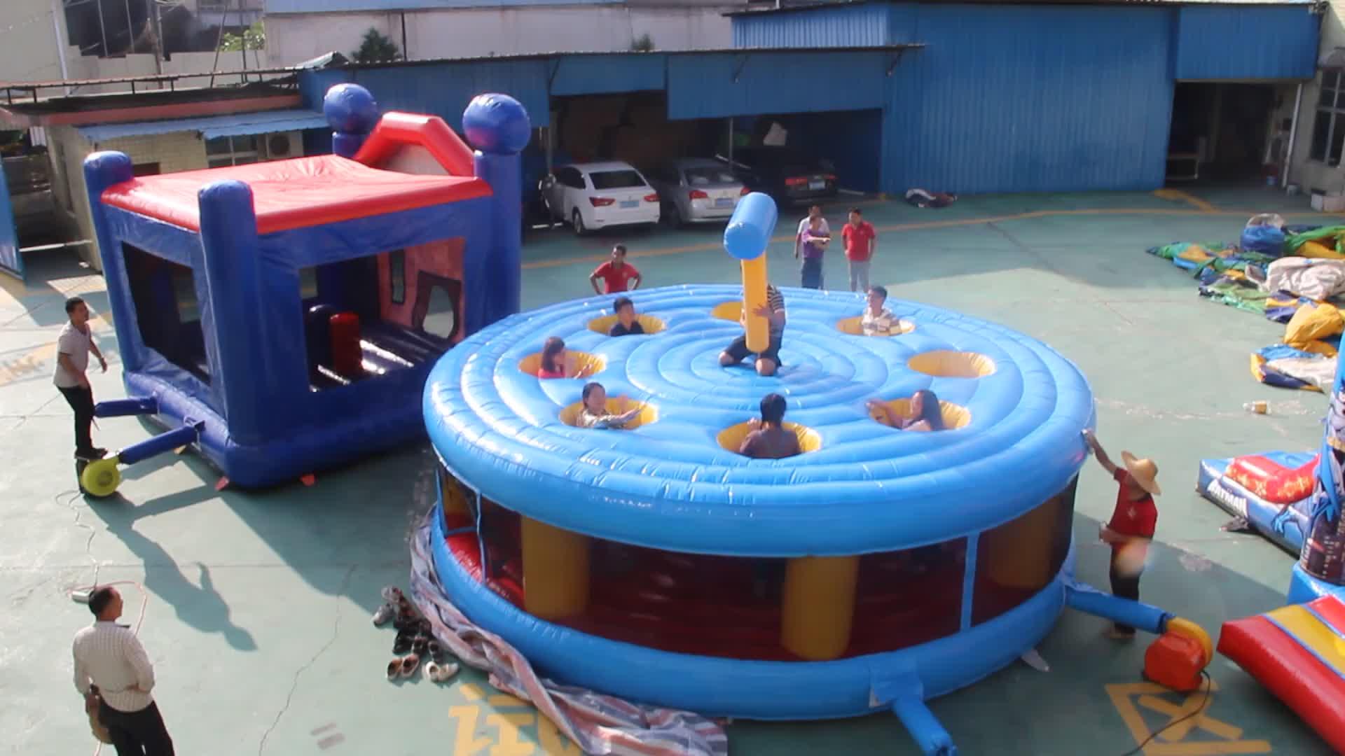 Miúdos engraçados adulto inflável jogo interativo jogo whack uma toupeira para venda