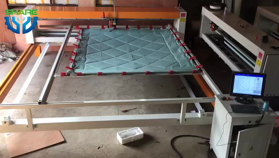 Automatic Single Needle Quilting Machine for Mattresses Industrial Bed Cover Quilt Sewing Quilting Making Machine