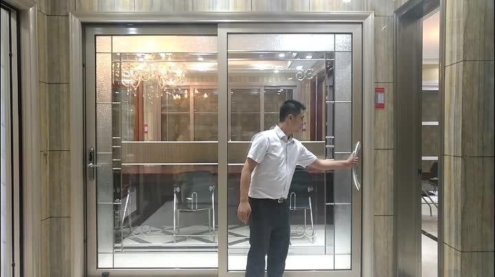 Aluminium deuren en ramen patio accordeon deuren schuifdeur systeem