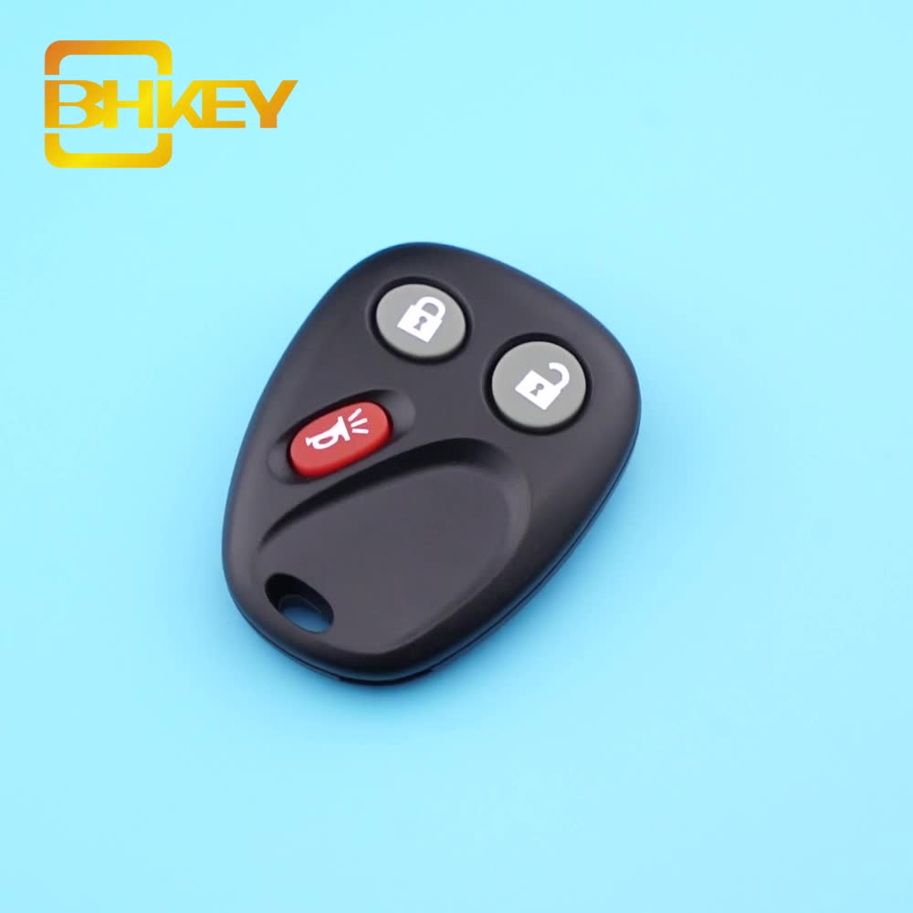 3 Buttons 315Mhz LHJ011 Keyless Entry Car Fob Remote Key For Chevrolet Avalanche Sierra Suburan Silverado