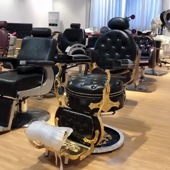 Di alta qualità dell'annata sedia antico sedia da barbiere poltrona da barbiere in vendita craigslist