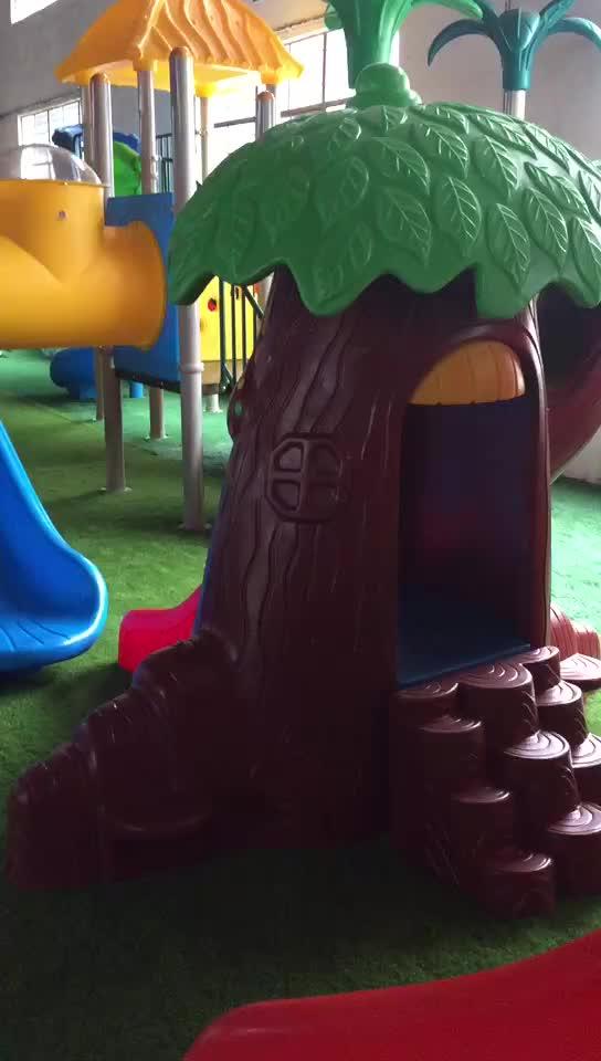 Amusement outdoor playground items cheap outdoor playground equipment Mushroom House HFC196-2