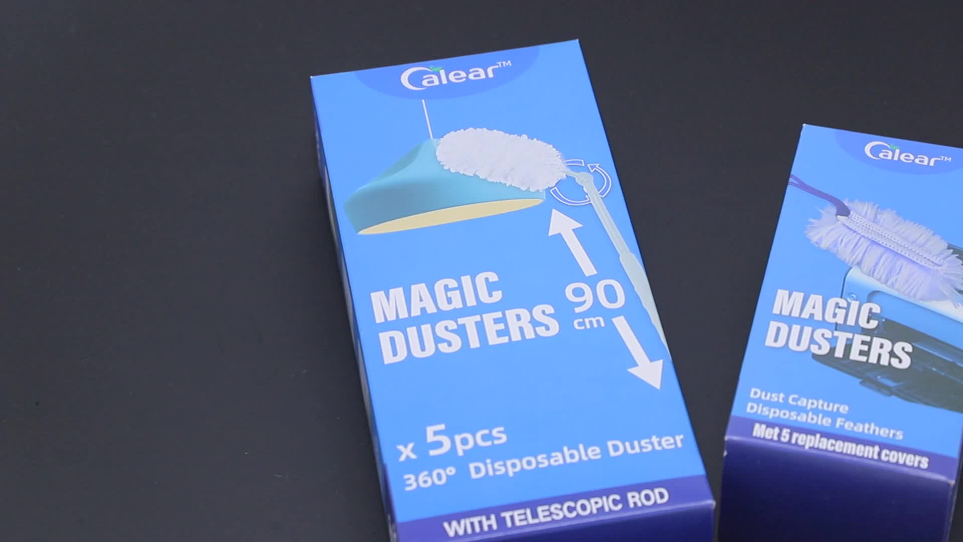 CALEAR BSCI ISO9001 Nonwoven Extendable Duster, Cleaning telescope Duster