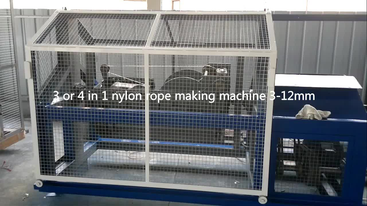 New design high speed sisal twisted rope making machine(10mm-30mm) with best price