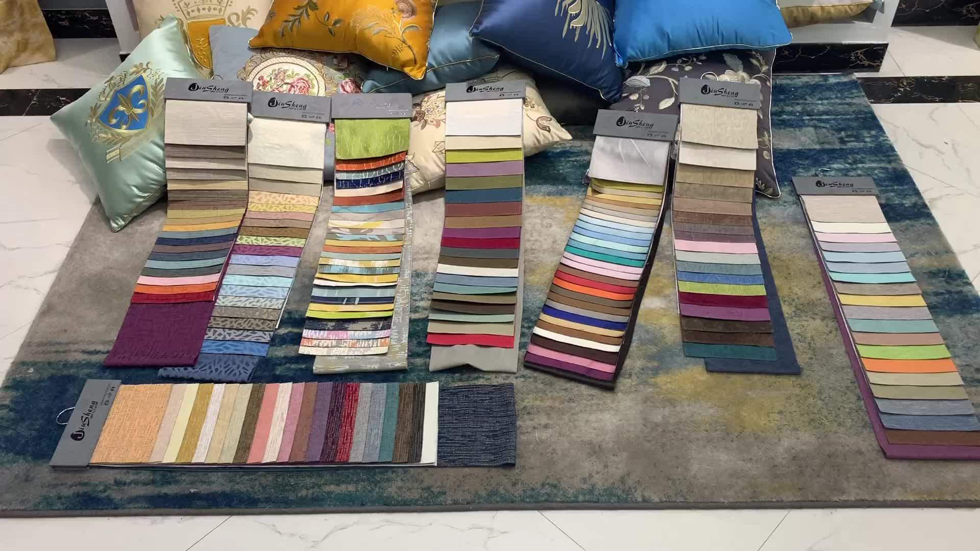 2019 soft fabric market price offer free samples silk drapes curtain fabric for home textile