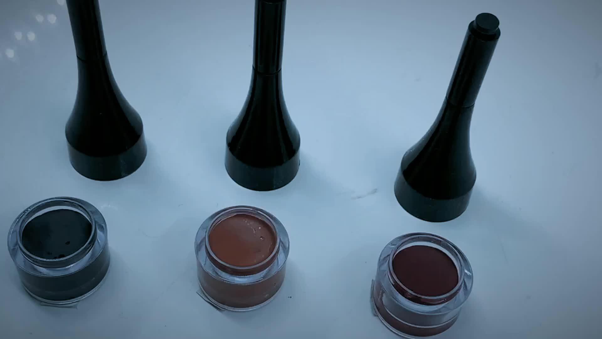 Hot Selling Oem Custom Wenkbrauw Tint Kleurstof Wenkbrauw Pommade Private Label Make-Up Kleur Wenkbrauw Gel Kit Waterdicht