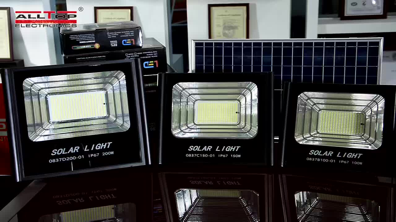 Alltop Kualitas Tinggi IP66 Tahan Air Outdoor SMD 50 W 100 W 150 W 200 W LED Banjir Lampu