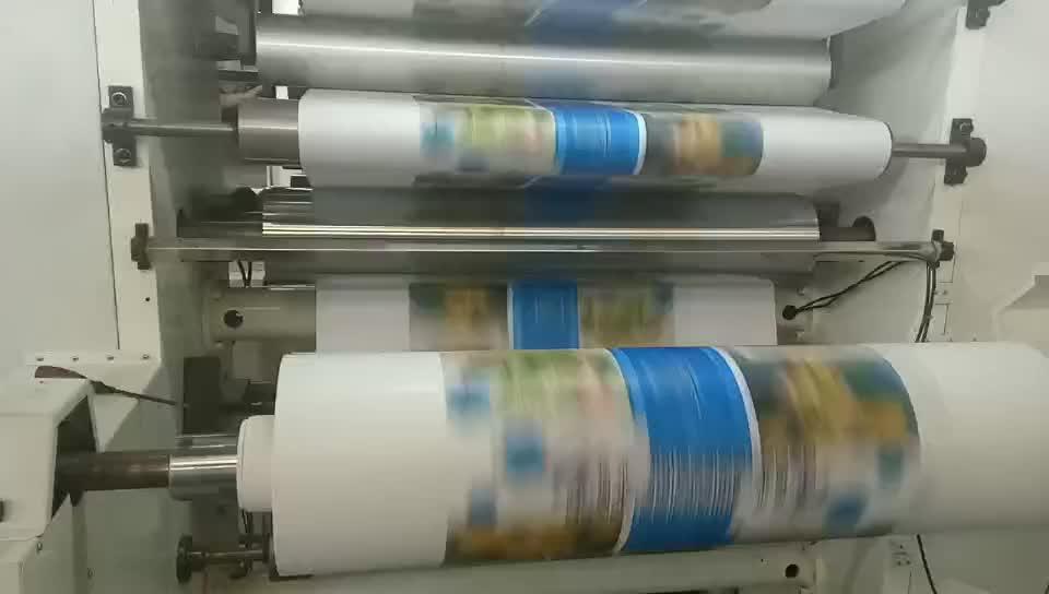 Di alta Precisione 4 Colori Ad Alta Velocità Tazza di Carta Macchina da Stampa