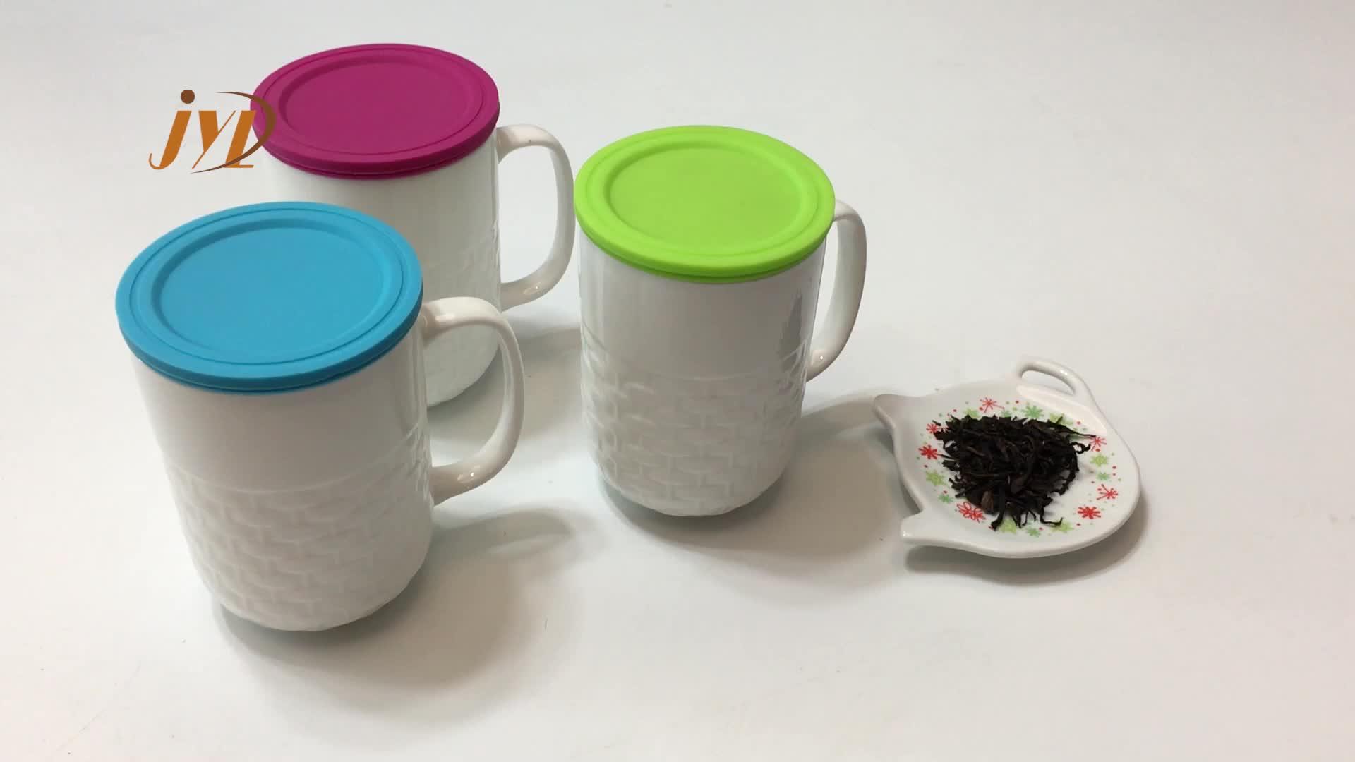 Drinkware type ceramic tea 2019 rea mug with strainer