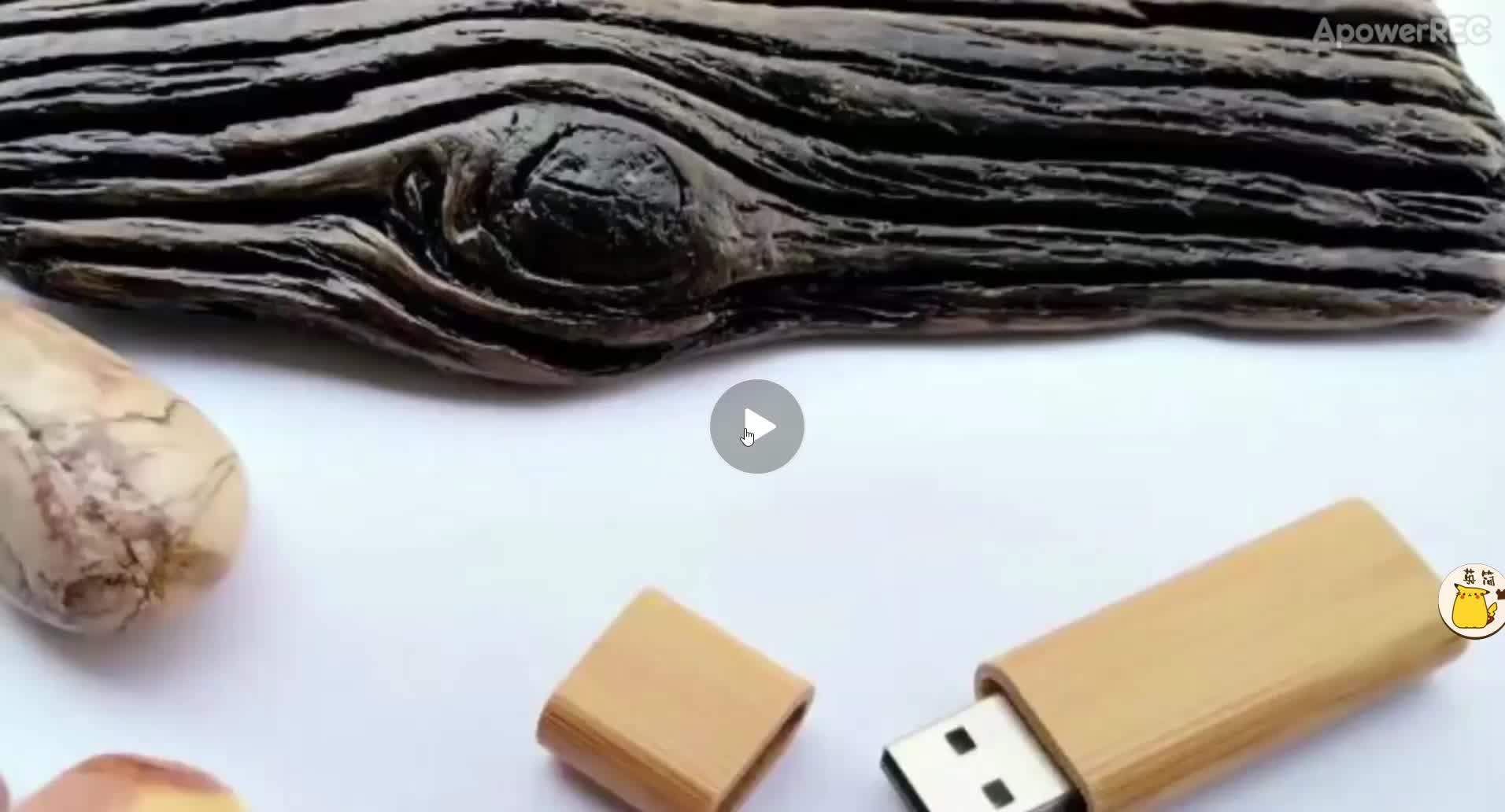 Di legno di promozione usb pendrive USB 128G di Legno usb memory stick