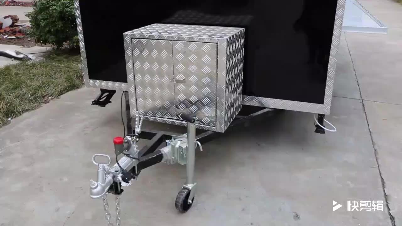 Camper продуктовый фургон оборудование коммерческий кухонный кран цена De Un продуктовый фургон мобильный De For Sale/кулер для воды на прицепу для еды тележки