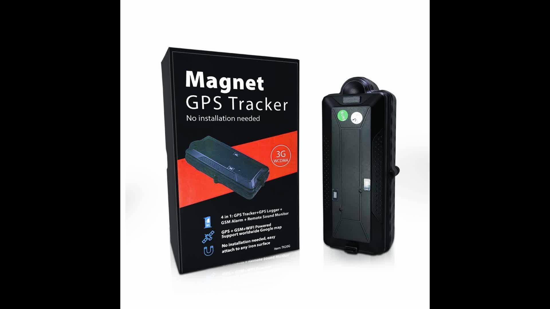 TK20G 20000mAh Magnetic Drop Alert GPS Tracker 3G 4G WIFI Monitoring Vehicle GPS Tracking Device Tracker
