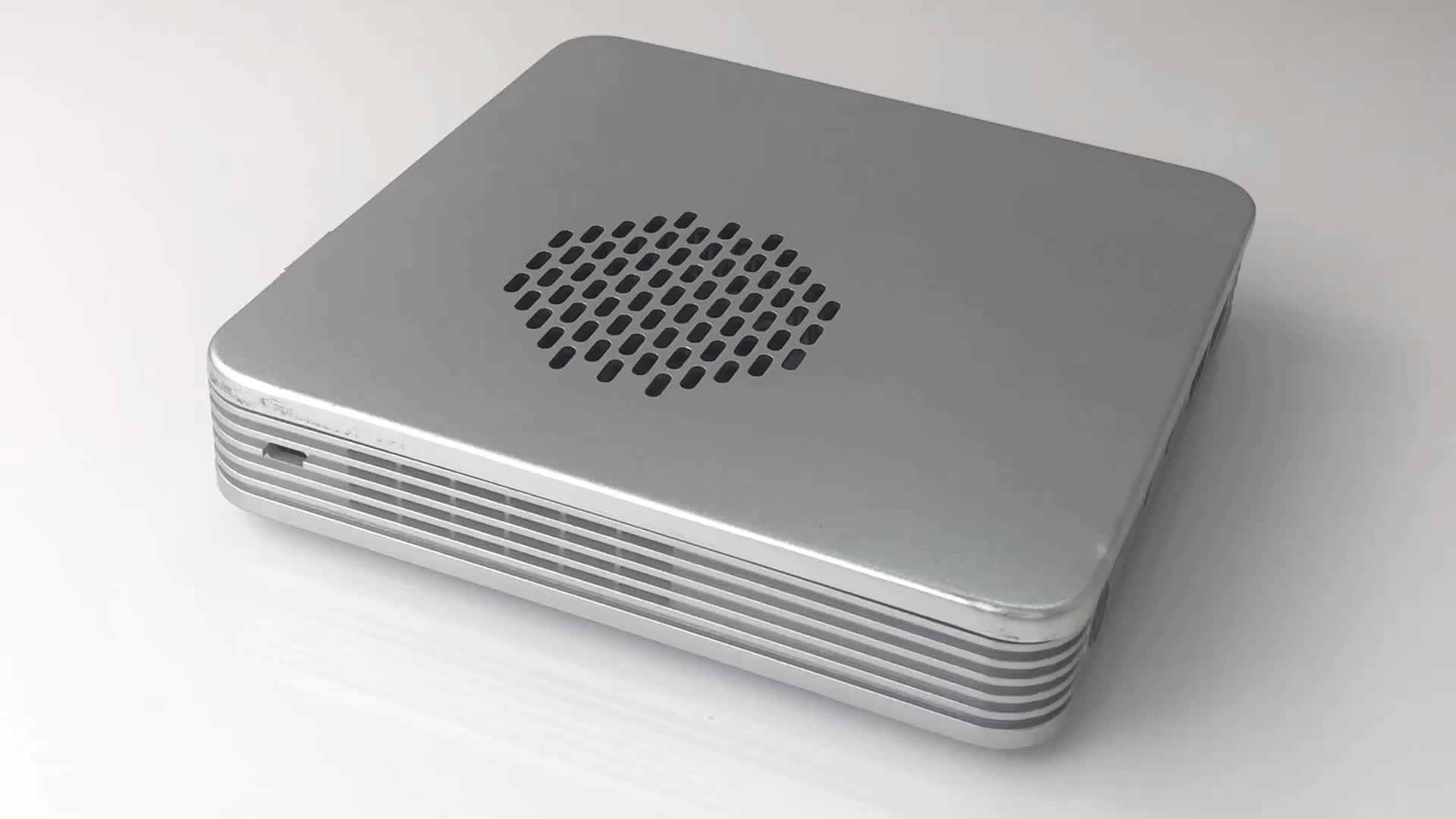 Pas cher intelligent industriel D'OEM mini poche ordinateur de bureau pc X86 J1900 12 V avec slot pci