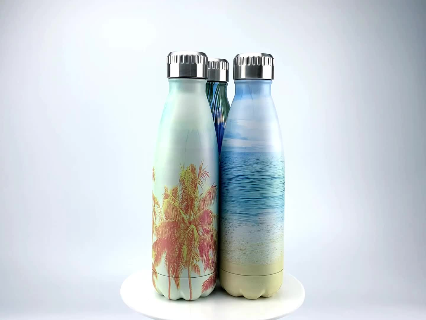 Factory Wholesale 17oz Insulated Water Bottle Double Wall Vacuum Stainless Steel Bottle Leak Proof Keeps Hot and Cold Drinks