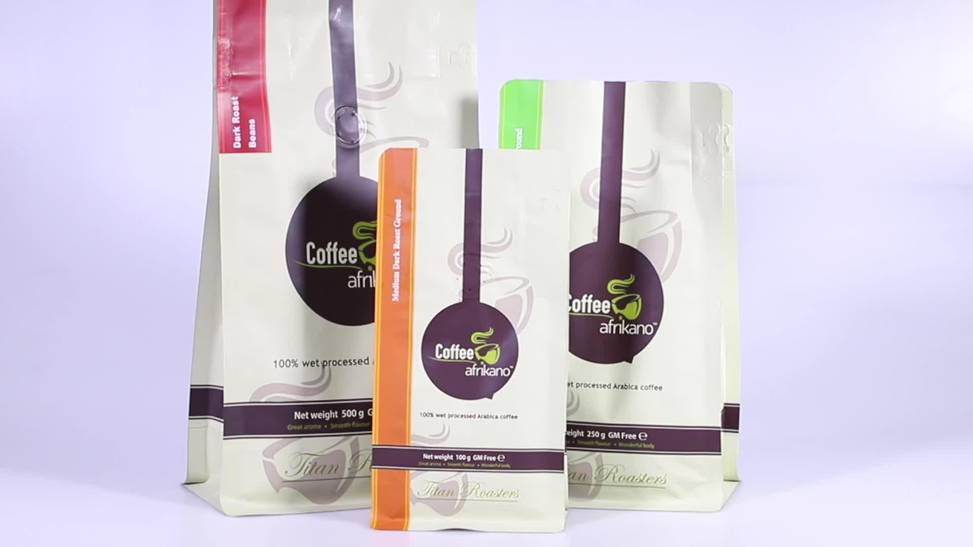 Kilitli plastik alüminyum folyo gıda ambalaj düz dipli çanta