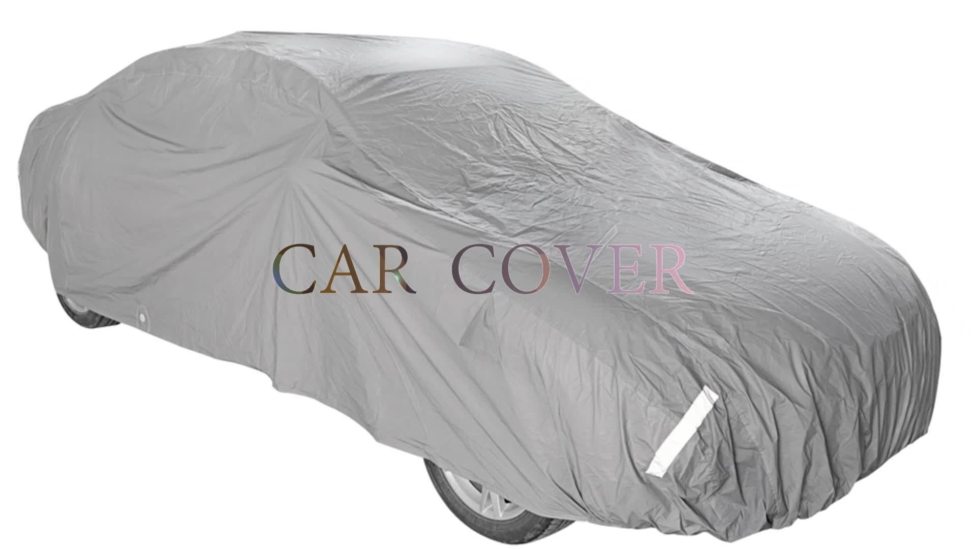 8-yesrs Factory Inventory Universal Fit Car Cover for 2-days delivery
