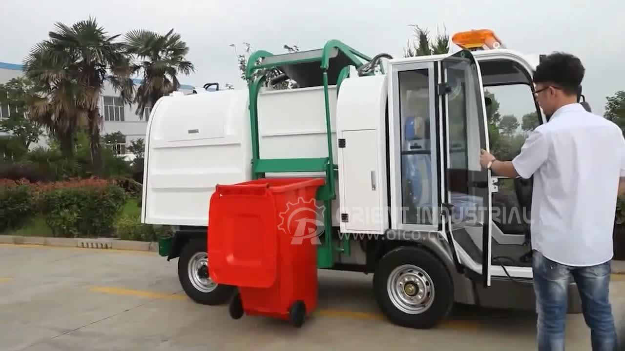 OR-DT-A Self Loading Electric Garbage Transportation Truck