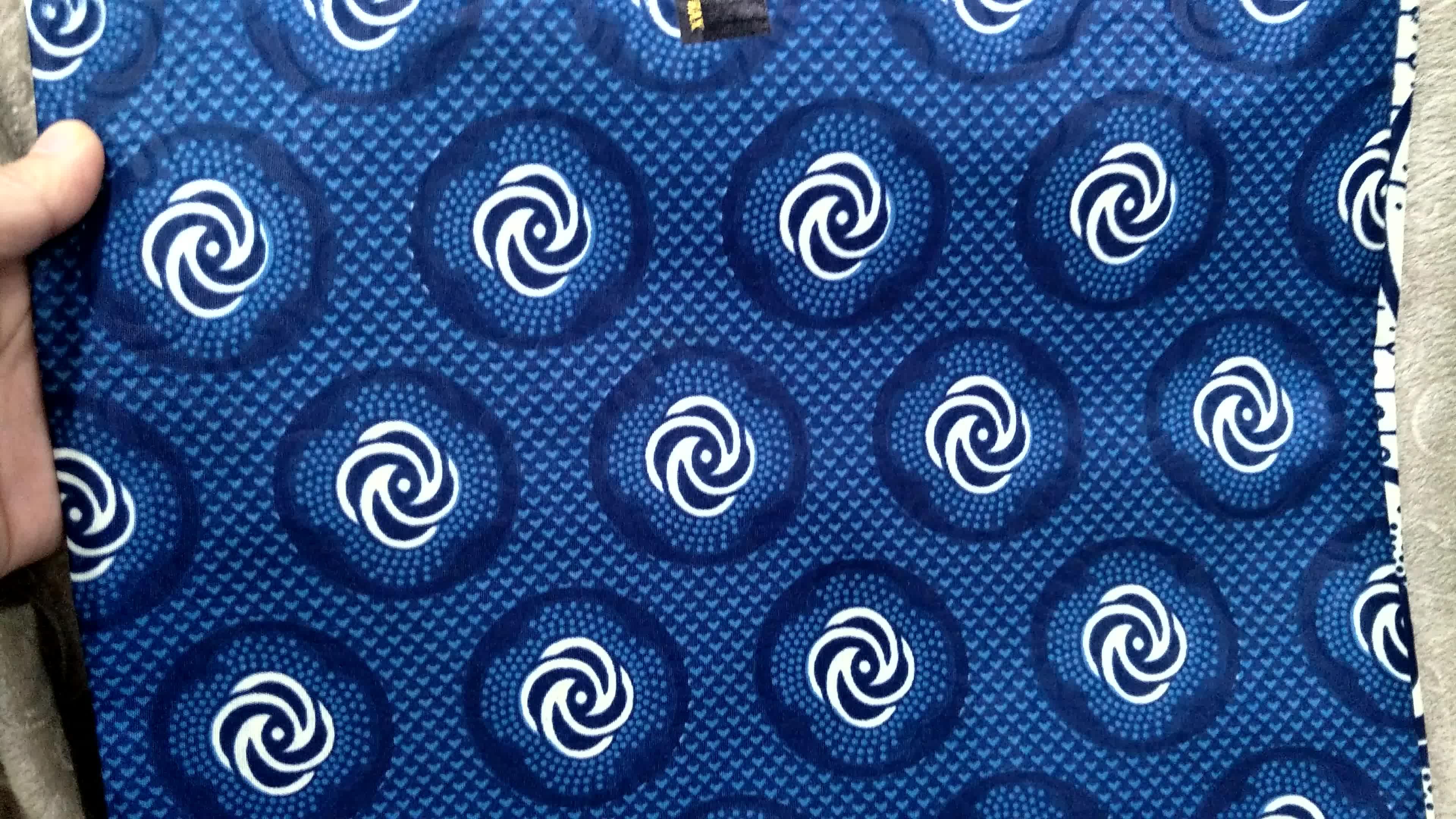 Fabrika kaynağı afrika balmumu kumaş için yeni tasarım 24*24