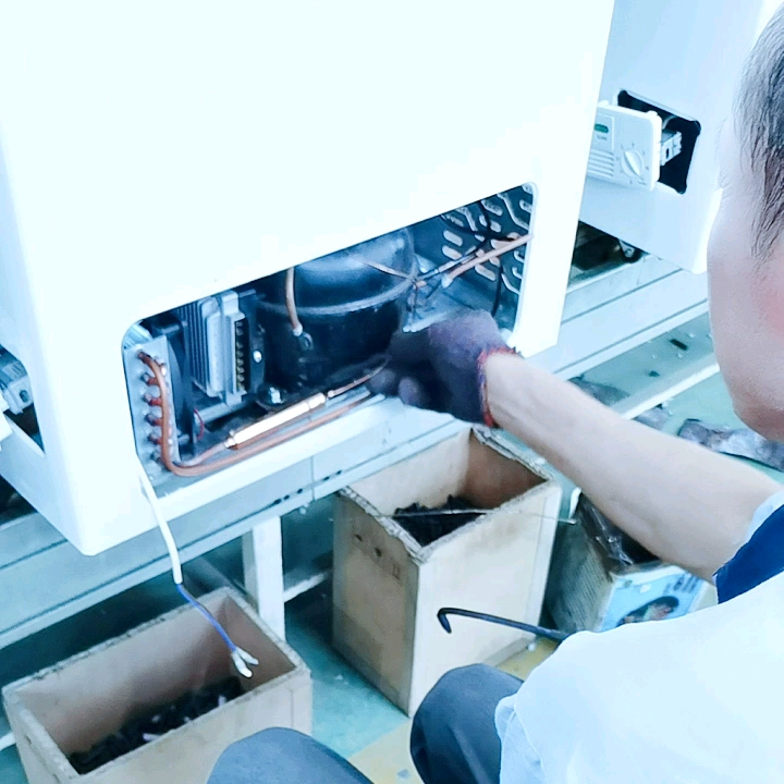 1615L 24V 36V pecho Solar congeladores