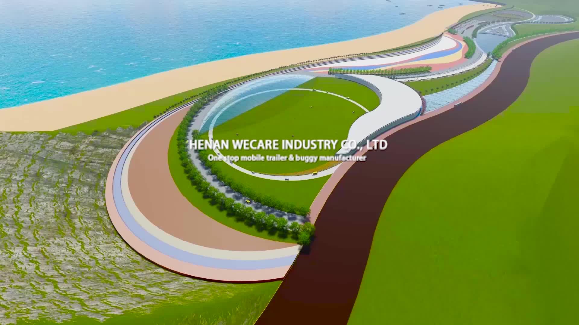 Cina vendita calda carrello di golf elettrico prezzo buggy auto spiaggia