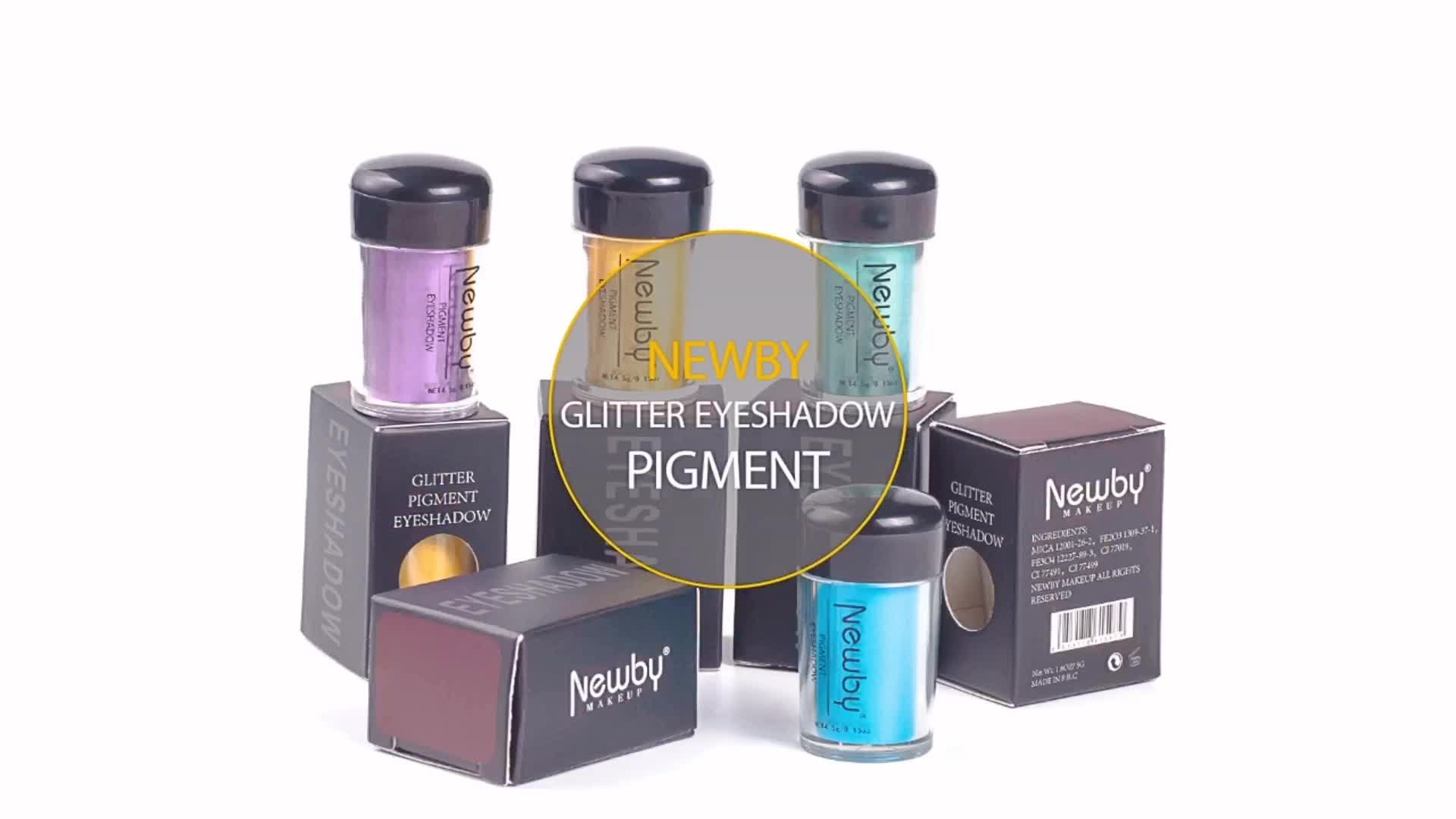 Amazon best sellers oem different colors glitter powder ladies love cosmetics glitter eyeshadow